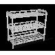 Полка для обуви металл/хром SHT-639