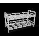 Полка для обуви металл/хром SHT-639-2