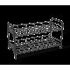 Полка для обуви металл/черный SHT-639-2