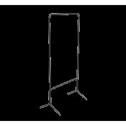 Вешалка гардеробная SHT-WR4040 черный-серый металл-пластик