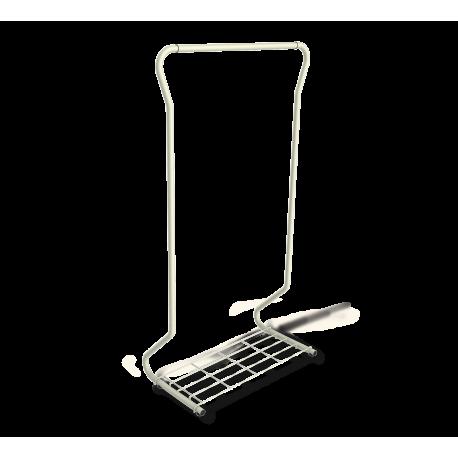 Вешалка гардеробная SHT-WR565 серый-черный металл-пластик