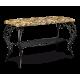 Банкетка Грация 685 черный-Катерина металл-гобелен