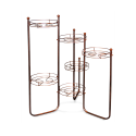 Подцветочница Каскад 3, металл, медный