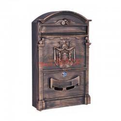 Ящик почтовый уличный LB bronze