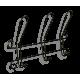 Вешалка Грация 770-2 черный металл
