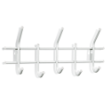 Вешалка Стандарт 2/5 белый/серый металл/пластик