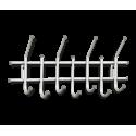 Вешалка Стандарт 2/7 серебро перлато/серый металл/пластик